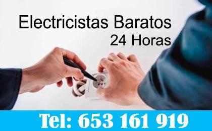 Electricistas Boadilla del Monte 24 horas