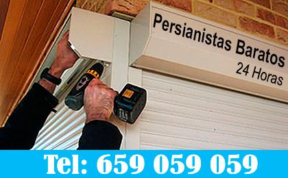 Instalación y Reparación de persianas baratas