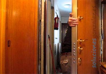 Instalación y reparación de puertas en Bacaro