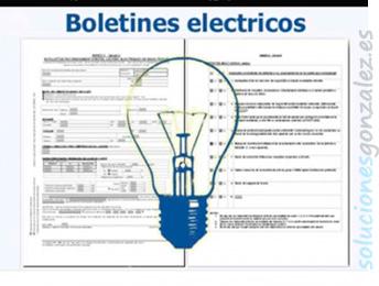 Boletines y certificados eléctricos en Bacarot