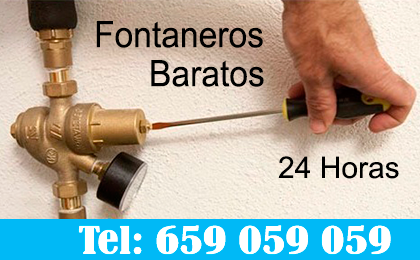 Fontaneros Santa Pola 24 horas
