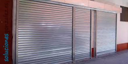 Instalación y/o reparación de de persianas metálicas enrollables