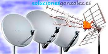 Reparación e instalación de antenas