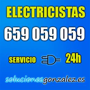 Electricistas 24 horas Monforte del Cid