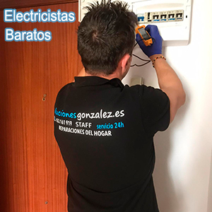 Electricistas baratos Guadalest