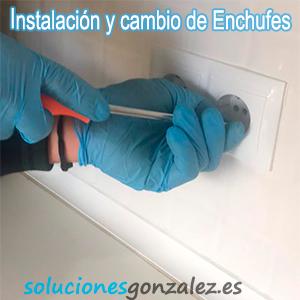 Instalación de enchufes Orihuela Costa