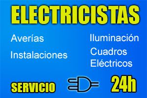 electricistas 24 horas baratos