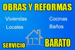 obras y reformas baratas