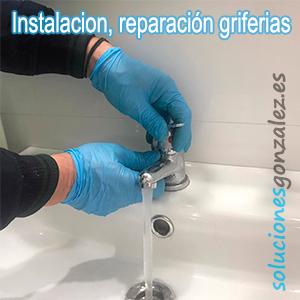 Instalación reparacion griferia Brunete