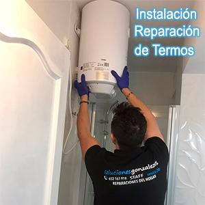Instalación, reparación termos Archena
