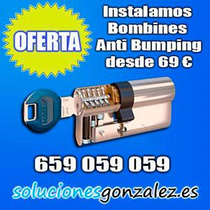 Bombines anti bumping Málaga