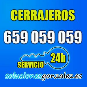 Cerrajeros 24 horas Málaga