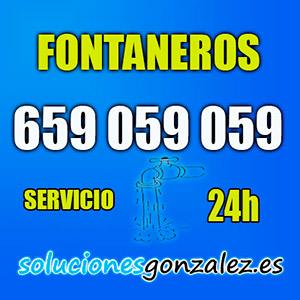 Fontaneros 24 horas Málaga