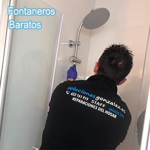 Fontaneros baratos Málaga