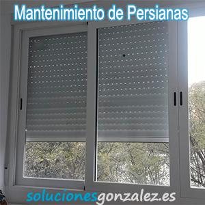 Mantenimiento de persianas Málaga
